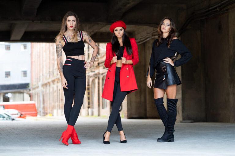 Zdjęcia Fashion Modelka Brandenburg odzież