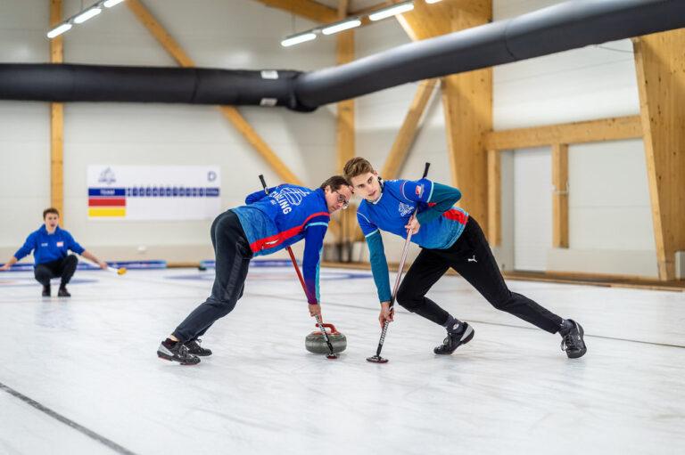 Curling Zdjęcia Reportaż Lodowisko Łódź