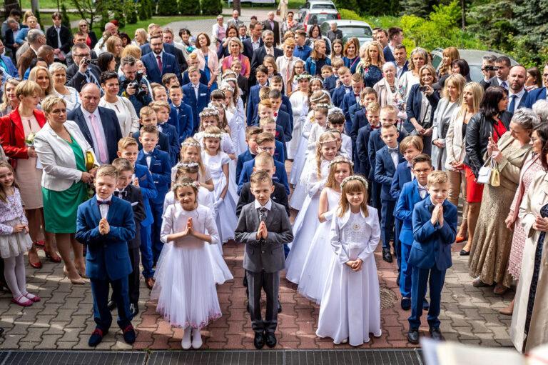 Komunia Kościół Matki Bożej Jasnogórskiej Zdjęcia
