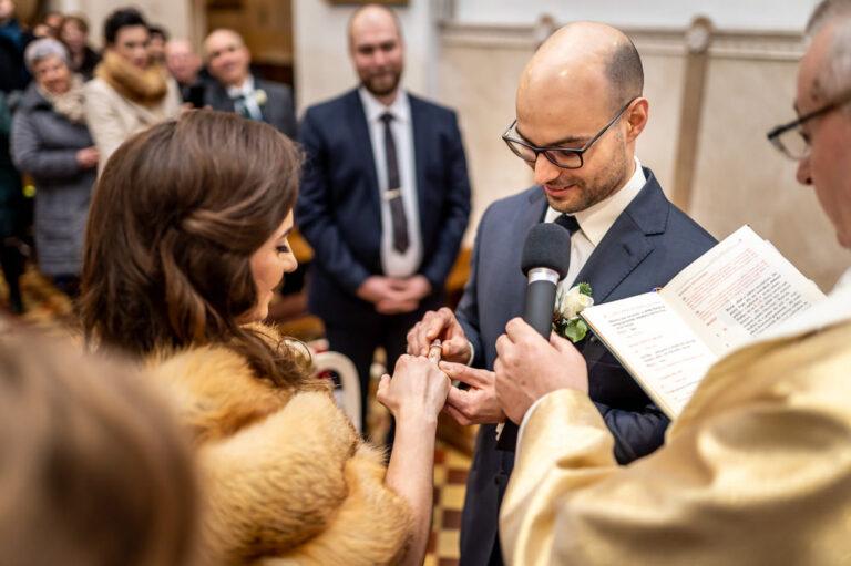 Ceremonia Ślubu Pabianice Mateusza Apostoła Kościół